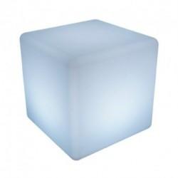 Cube lumineux LED RGB Rechargeable avec télécommande