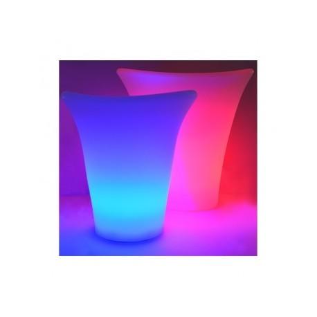 Seau à glace grand LED RGB Rechargeable avec télécommande